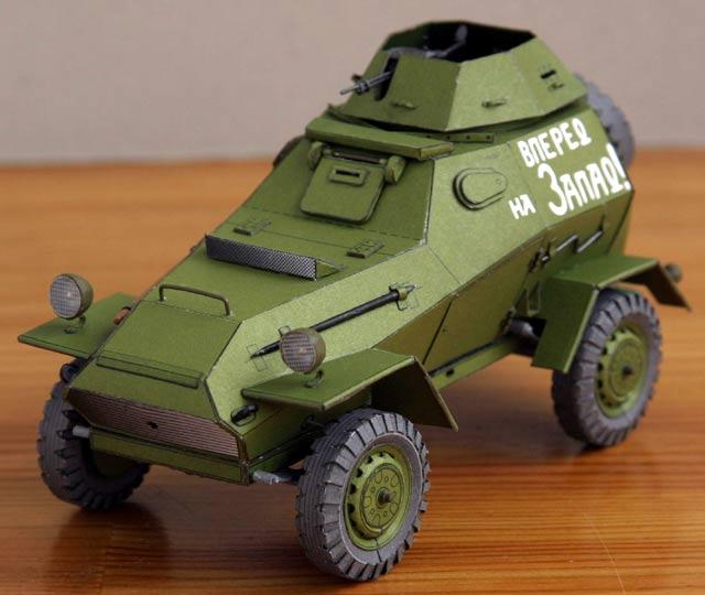 Легкий бронеавтомобиль БА-