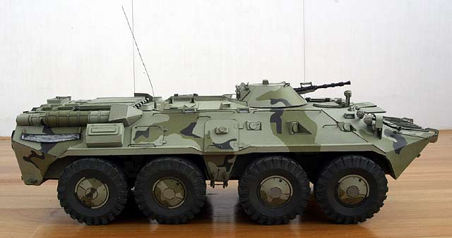 Русские танки №5 - БТР-80