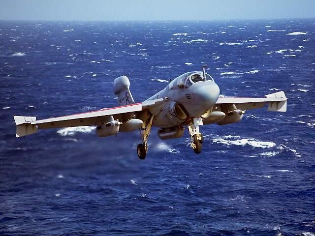 Самолеты ea 6 состоятна вооружении