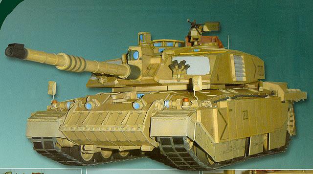 Основной британский танк